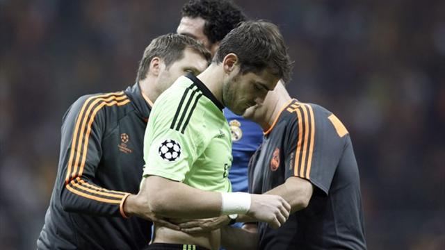 Champions League - Casillas suffers suspected bruising