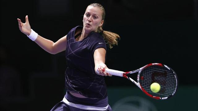 Tennis - Seeds keep tumbling as Kvitova loses in Sydney