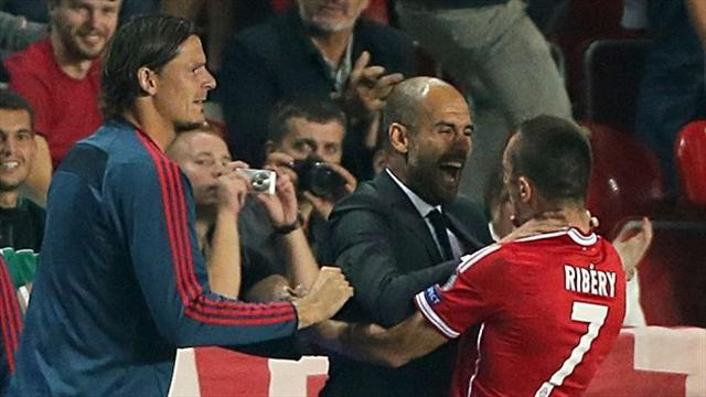 Football - Pep lauds Bayern's winning habit