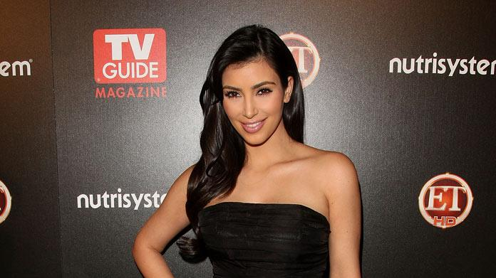Kim Kardashian arrives to TV Guide's sexiest stars party held at the Sunset Tower Hotel, on March 24, 2009 in Hollywood, California.