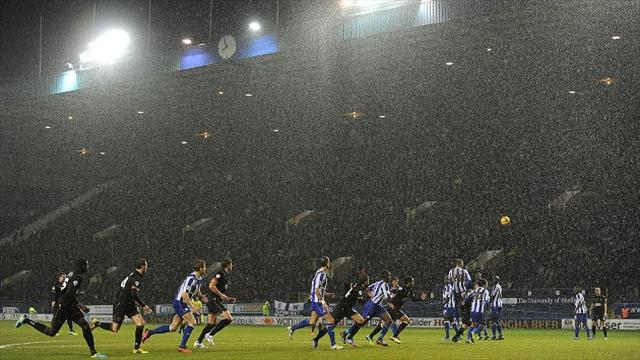 Football - Weather the winner at Wednesday
