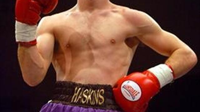 Boxing - Haskins hammers Ward in five for British bantam title; Francis stays busy