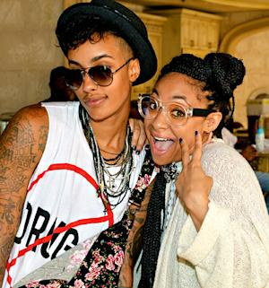 Raven-Symone, Rumored Girlfriend AzMarie Livingston Attend LudaDay in Atlanta: Picture