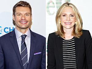 Ryan Seacrest and NBC News Reporter Andrea Canning Were Roommates!