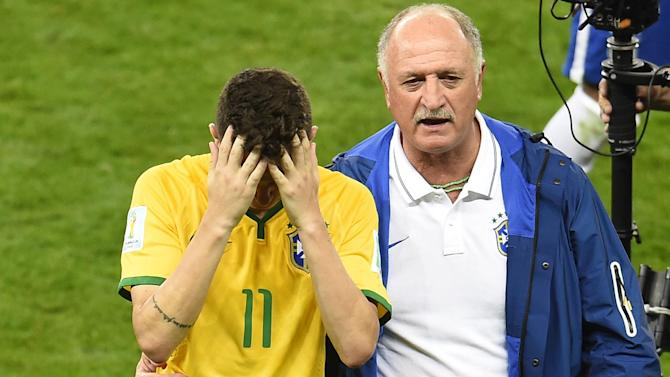 World Cup - Worst day of my life, says Brazil coach Scolari