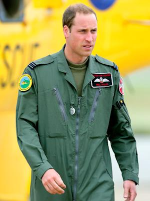 Prince William Searches for Missing Man on New Year's Day