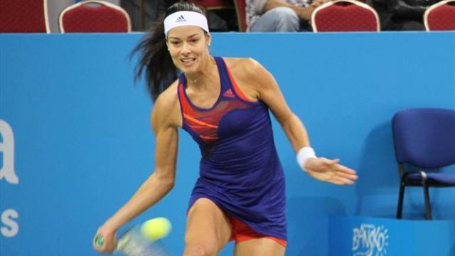 Tennis - Ivanovic downs Stosur to take charge of group