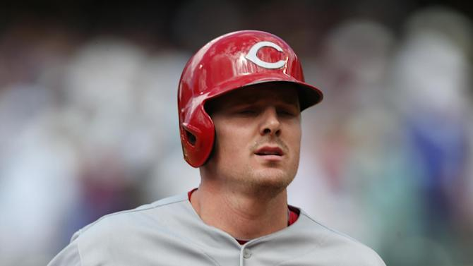 Cuddyer hits for cycle as Rockies sweep Reds