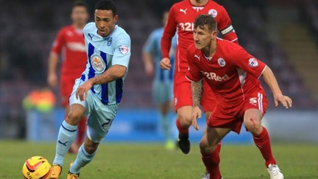 Football - Late twist denies Coventry victory against Crawley