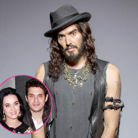 """Russell Brand: Katy Perry's New Boyfriend John Mayer Is a """"Worse or Better"""" Womanizer Than Me """"Depending on How You View It"""""""