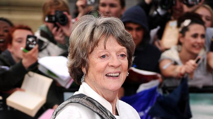 Maggie Smith Harry Potter And The Deathly Hollows Part World Premiere