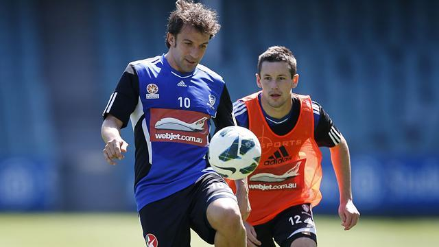 World Football - Del Piero hits four in Sydney rout