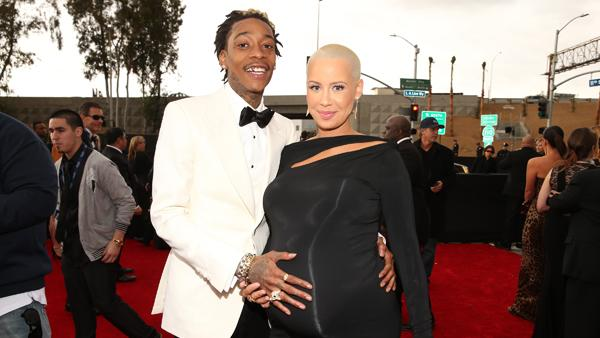 Wiz Khalifa, Amber Rose Welcome Baby Boy