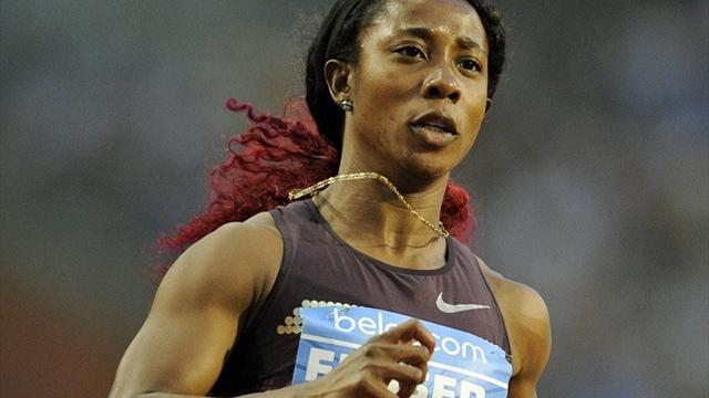 Athletics - Olympic champion Fraser-Pryce to run in Commonwealth Games