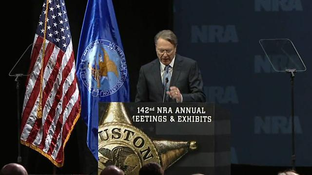 NRA's new pres.: Obama can be stopped
