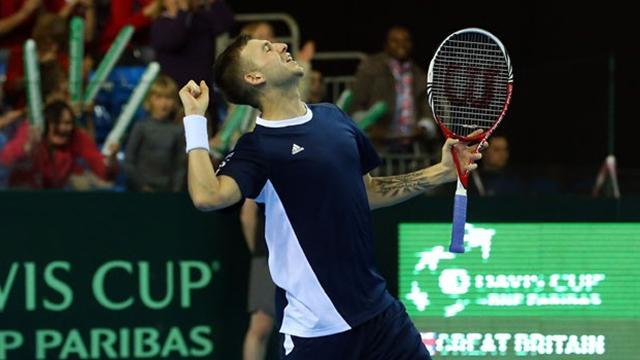 Davis Cup - Britain to face Croatia in World Group play-off