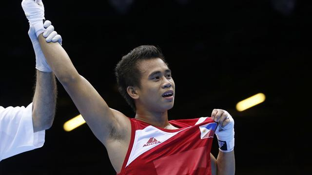 Olympic Games - 'Little Pacquiao' thrills at Olympics