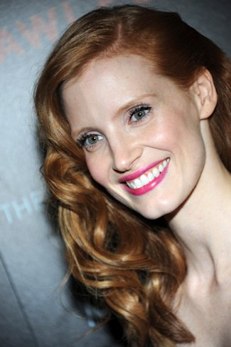 AT LAST! YSL Unveils Campaign For Manifesto Fragrance Starring Jessica Chastain's Purple Hands