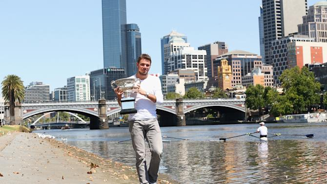 Australian Open 2014 - Men's Champion Photocall