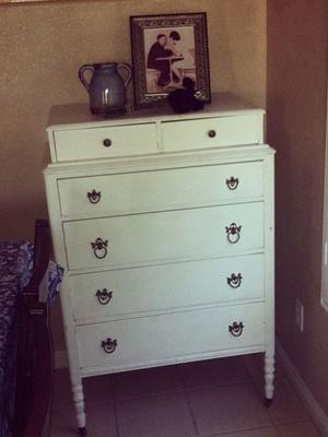 Candace's Antique Dresser