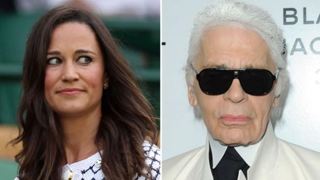 Pippa Middleton /  Karl Lagerfeld -- Getty Images