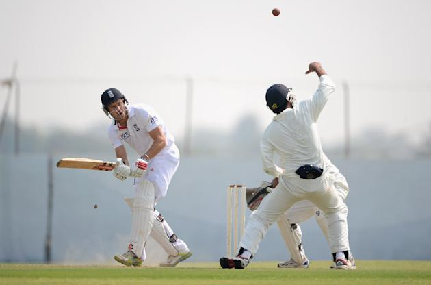 Haryana v England: Tour Match - Day One