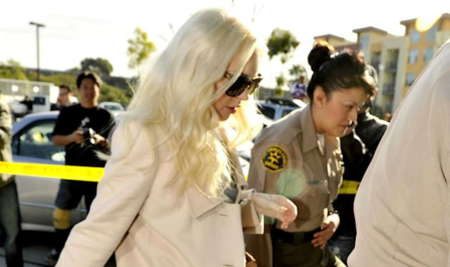 Lindsay Lohan Has Positive Probation Hearing