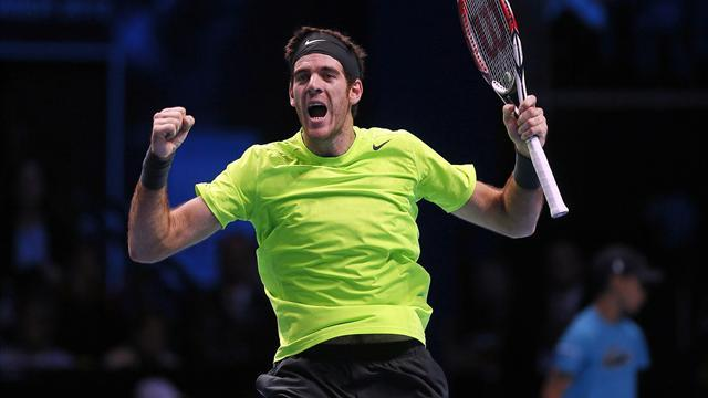 ATP World Tour Finals - Del Potro trova l'impresa: è in semifinale