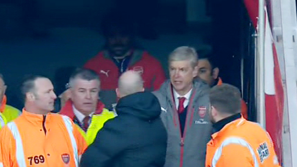 Arsene Wenger faces a touchline ban after calling referee Jon Moss a 'cheat' during Arsenal's clash with Burnley