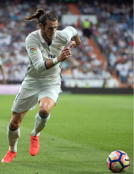 Real Madrid's Gareth Bale looks close to being back to the form which saw him shine towards the end of last season and at Euro 2016