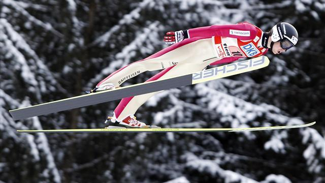 Nordic Combined - Hug off to a bang in 2014 with maiden World Cup victory