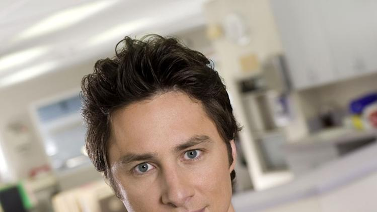 "Zach Braff stars as John ""J.D."" Dorian in Scrubs."