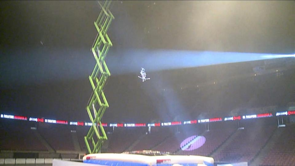 Taking a 'Leap of Faith' With a Stunt Man