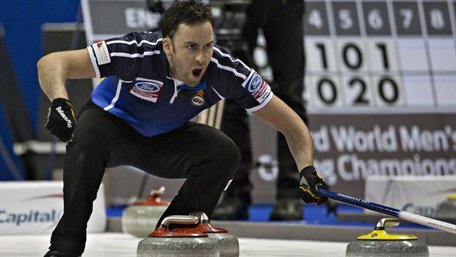 Curling - Scotland seal play-off place at worlds in Canada