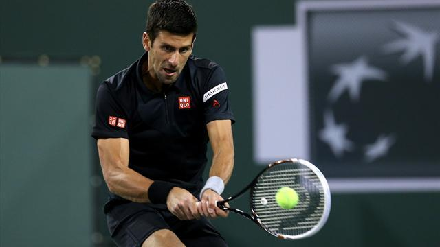 Indian Wells Masters - Djokovic eases past Benneteau to make semis