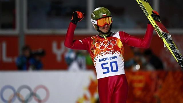Ski Jumping - Gold medallist Stoch crashes in training