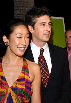 Sandra Oh and director Alexander Payne at the Beverly Hills premiere of Fox Searchlight's Sideways