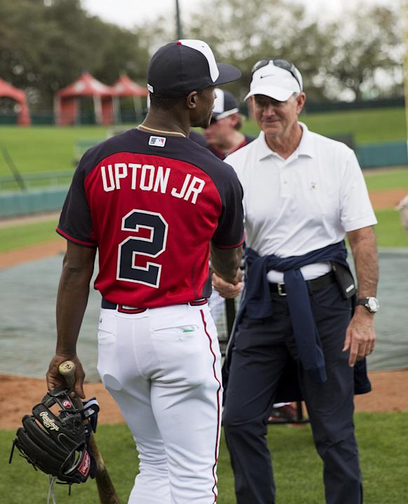 Braves OF Melvin Upton to miss rest of spring with injury