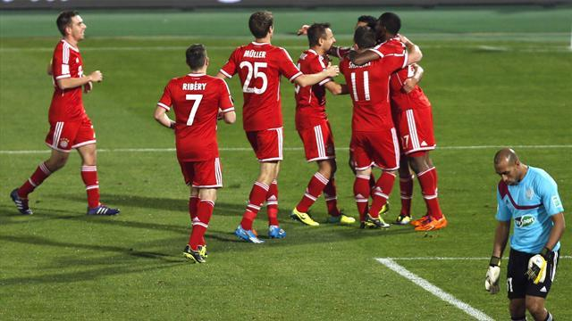 Club World Cup - Bayern Munich beat Raja to seal quadruple