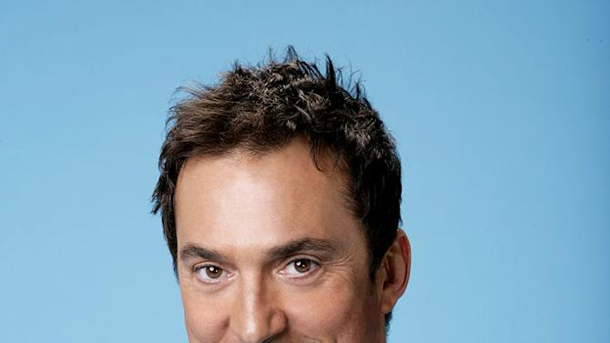 Former dancer Bruno Tonioli judges the dancers on the ABC Television Network's Dancing with the Stars