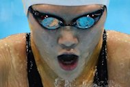 China's Ye Shiwen competes in the women's 200m individual medley final during the swimming events at the London 2012 Olympic Games. Yi ignored the doping controversy surrounding her to bag her second gold medal of the Olympics with victory in the 200m medley