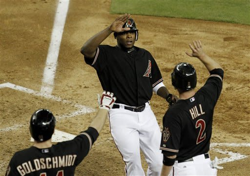 Goldschmidt, Upton homer as D-backs beat Cubs 10-5