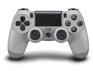 20th Anniversary Sony PS4 Features Original Grey Color Scheme image Sony PS4 DualShock Controller in Grey