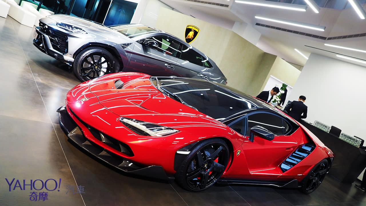【新車圖輯】蠻牛佔據中台灣!Lamborghini全新展示暨服務中心台中開幕