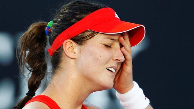 Tennis - Robson bows out early in Katowice