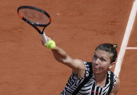 Tennis - French Open - Roland Garros - Simona Halep of Romania v Naomi Osaka of Japan - Paris