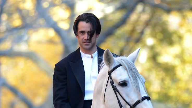 Spotted on Set, Colin Farrell