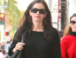 pst Courteney Cox And Family