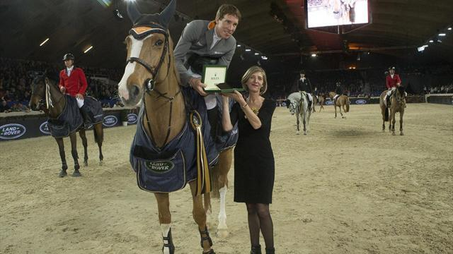 Equestrianism - Von Eckermann picks up points in Mechelen