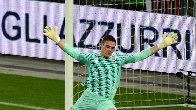Jack Butland was delighted to see England Under-21s extend their clean sheet record